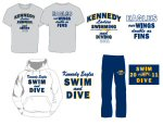 Swim & Dive Team Apparel