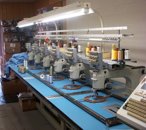Six Head Embroidery Machine