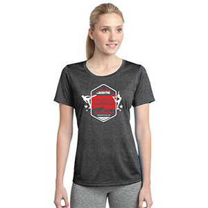 LST360 Ladies Contender Scoop Neck Dri Fit Short Sleeve Tee